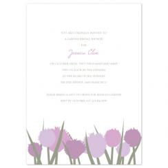 Garden Shower Wedding Stationery