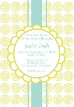 Luxe Shower Wedding Stationery