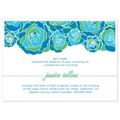 Flower Power Shower Wedding Stationery