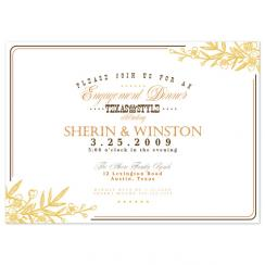 Western Classic Wedding Stationery