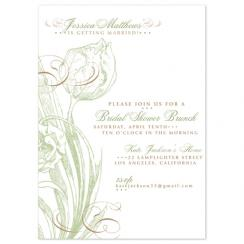 Showering Tulip Wedding Stationery