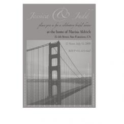 bridge Wedding Stationery