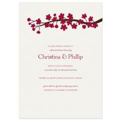 Cherry Blossoms Wedding Stationery