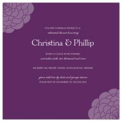 Chrysanthemum Wedding Stationery