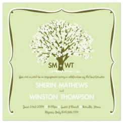Dogwood Blossom Wedding Stationery