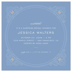 Blue Surprises Wedding Stationery