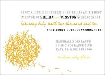 tumbleweed Wedding Stationery