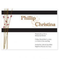 Bamboo Wedding Stationery