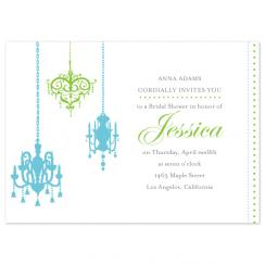 Fine-Art-Chandelier Wedding Stationery