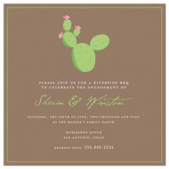 Cute Cactus Wedding Stationery