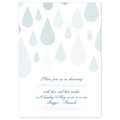 Tranquil Shower Wedding Stationery