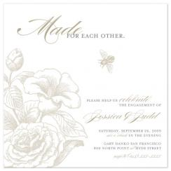 Made for each other Wedding Stationery