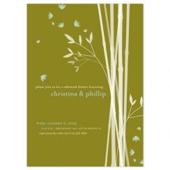 bamboo Wedding Stationery