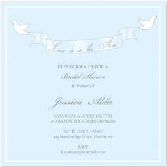 Love is in the Air Wedding Stationery