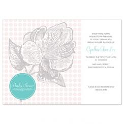 Flower No. 5 Wedding Stationery