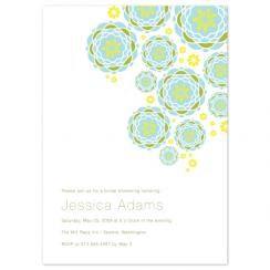 Cascading Flowers Wedding Stationery
