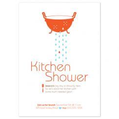 A Happy Kitchen Wedding Stationery