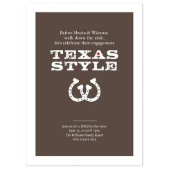 Texas Style Wedding Stationery