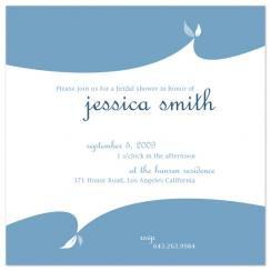 Dancing Leaves Wedding Stationery