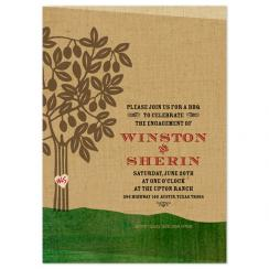 Kissing tree Wedding Stationery