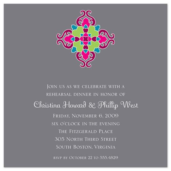 wedding stationery - Modern Flourish by the co.co. studio