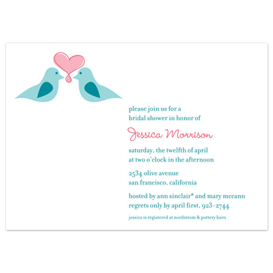 wedding stationery - Love Birds by the co.co. studio