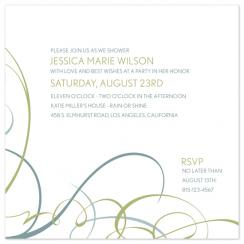 Modern Movement Wedding Stationery