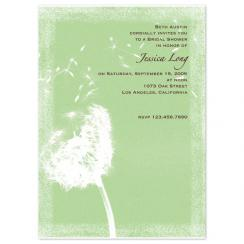 Dandelion Wishes Wedding Stationery