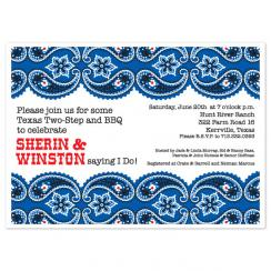 Sprinkles Bandana Wedding Stationery