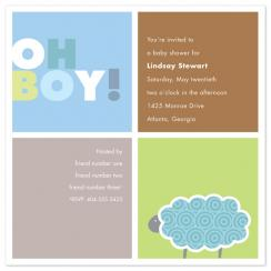 Baby Boy Squares