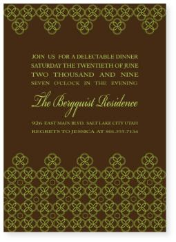 perimeter Party Invitations