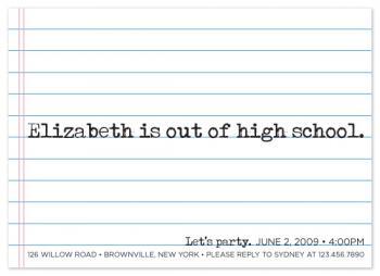 Goodbye High School