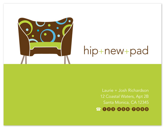 moving announcements - Hip New Pad by Amanda Larsen Design