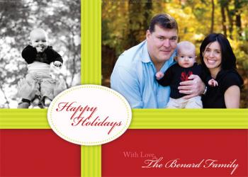 Gift Box Holiday Photo Cards