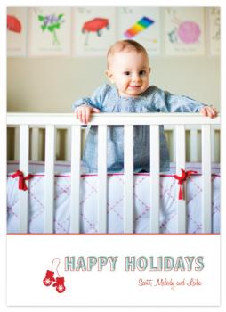 Mittens Holiday Photo Cards