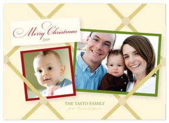 Memory Board Holiday Photo Cards