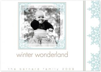 Winter Wonderland Holiday Photo Cards