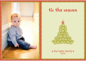 Tree Love Holiday Photo Cards