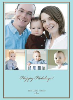 The Multi-Frame Classic Holiday Photo Cards