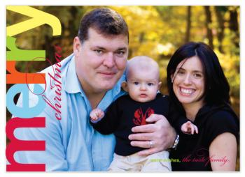 Bright Light Holiday Photo Cards