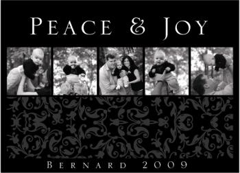 Peace & Joy Holiday Photo Cards