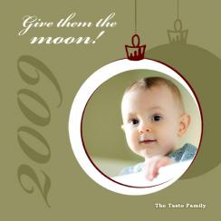 Give Them the Moon! Holiday Photo Cards