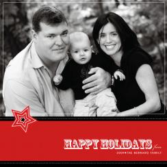 A Star Holiday Holiday Photo Cards