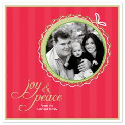 Holiday Twist Holiday Photo Cards