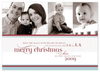fa la la la la Holiday Photo Cards