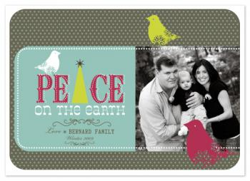 birds Holiday Photo Cards