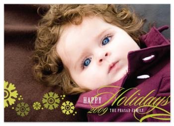 Whimsical Holiday Holiday Photo Cards