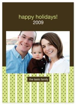 Wrapped in Ribbon Holiday Photo Cards