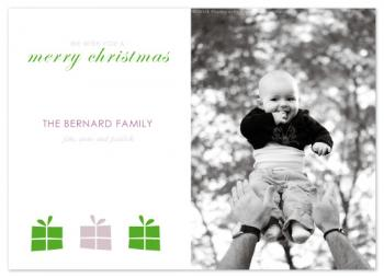 A bunch of presents Holiday Photo Cards