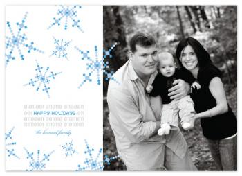 Nerdy Christmas Holiday Photo Cards